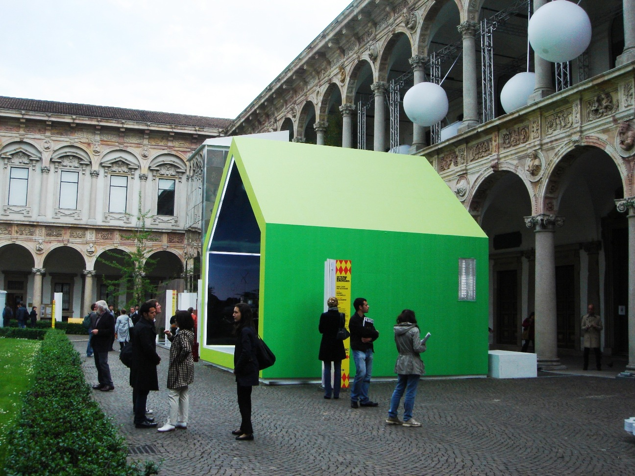 FuoriSalone 2009: Italcementi at INTERNI Design Energies with Mario ...
