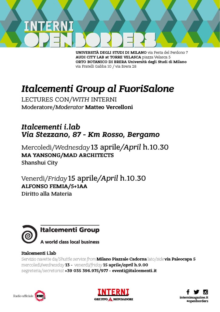 STD 2016 Italcementi_lecture