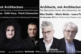 """""""Architects. Not Architecture"""" con Odile Decq e Laura Fogarasi Ludloff"""
